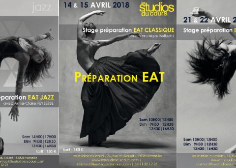 Stages de préparation à l'EAT 2018 aux Studios du Cours à Marseille