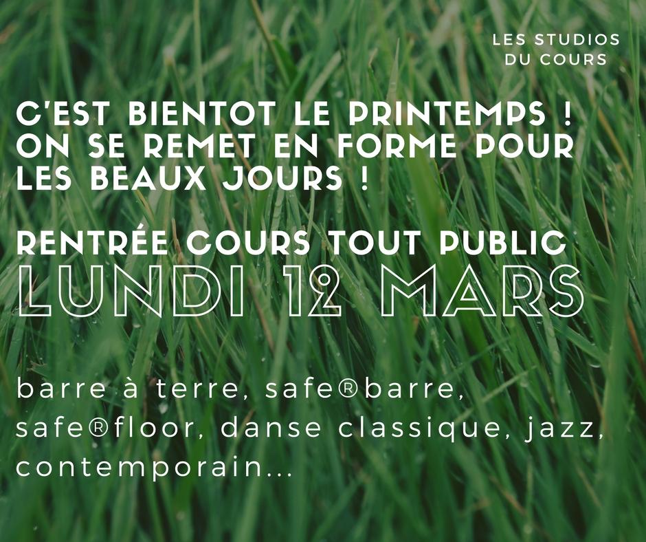 Rentrée école de danse des Studios du Cours aux Studios du Cours à Marseille