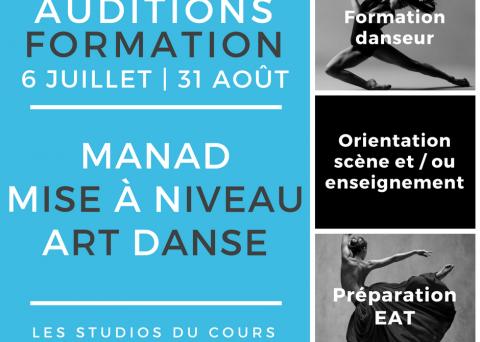 audition formation manad studios du cours Marseille