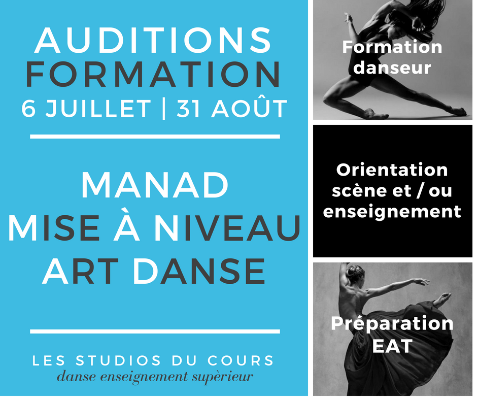 audition formation manad studios du cours Marseille