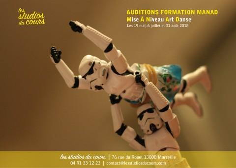 formation danseur Manad aux Studios du Cours à Marseille