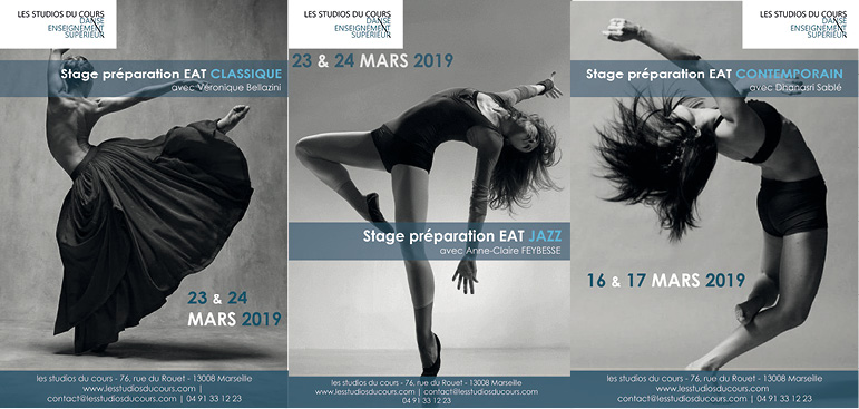 Stage EAT Jazz contemporain classique