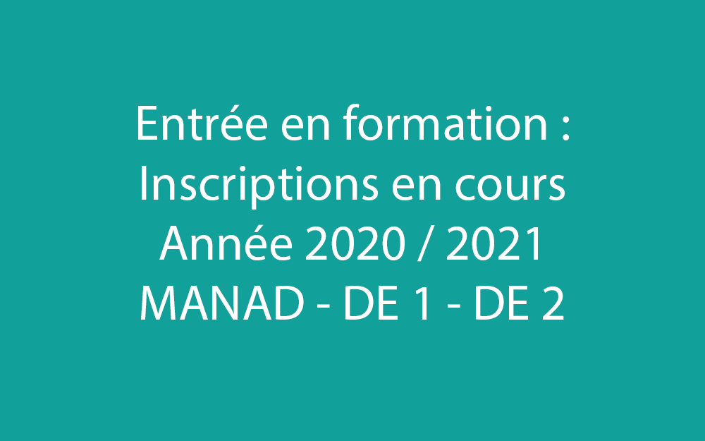 Entree formation 2021-01