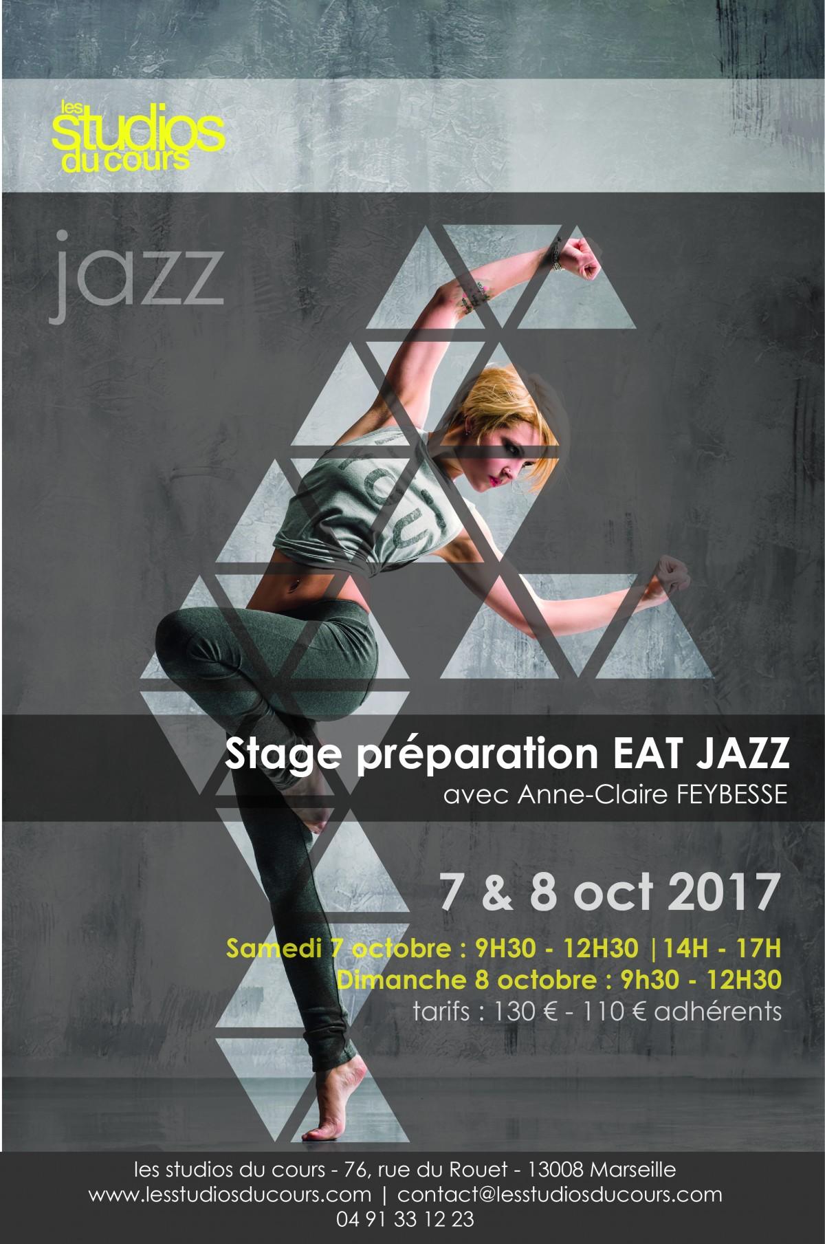 Préparation à l'EAT Jazz aux Studios du Cours à Marseille
